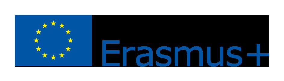 EU flag erasmus logo