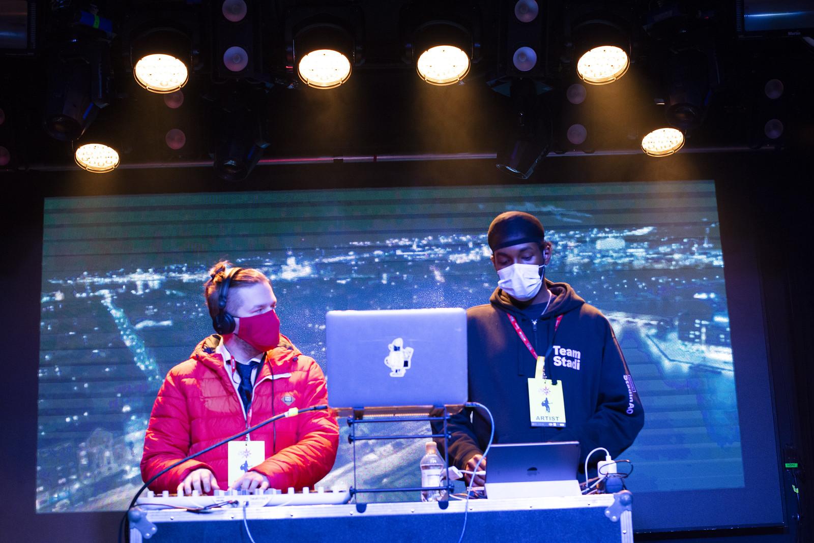 DJ-kilpailijat SAKUstars kisoissa syksyllä 2020 Stadin AO:ssa